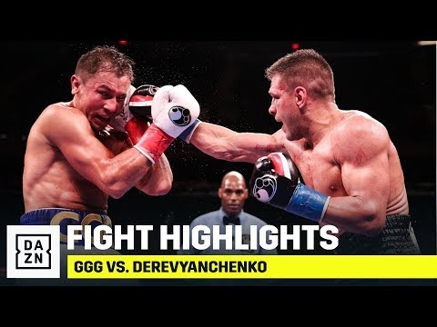 HIGHLIGHTS GGG vs Sergiy Derevyanchenko