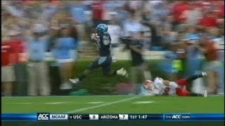 This is the radio footage of Tarheel Sports Network's Jones Angell, calling the Giovanni Bernard 73-yard PR TD vs NCSU to seal the game for UNC. Angell is ...