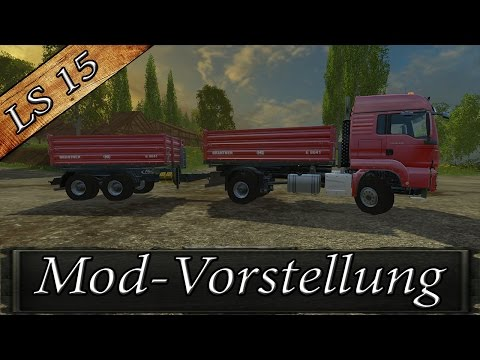 MAN TGS Tipp with Trailer v1.1