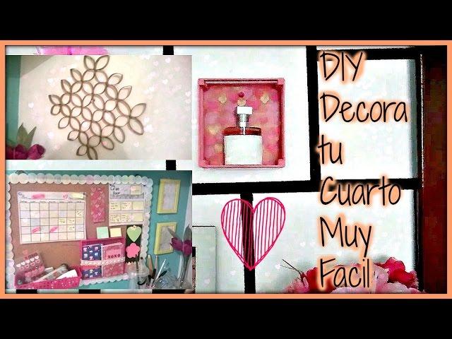 Diy decora tu cuarto muy bonito y facil - Decora tu habitacion online ...