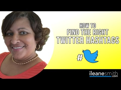 Watch 'How to Find the Right Hashtags to Use on Twitter'