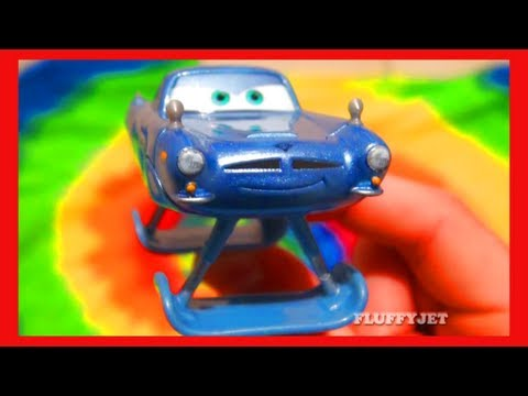 COOL Pixar Cars 2 Hydrofoil Finn McMissile Disney Mattel Toys Deluxe Spy Car die-casts Toy Review