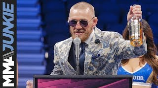 Video Conor McGregor's full post-fight interview after his defeat to Floyd Mayweather MP3, 3GP, MP4, WEBM, AVI, FLV Oktober 2018