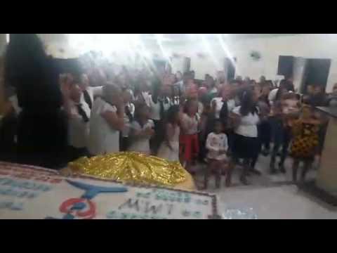 Kleide Valente ministrando em Barra da Estiva  Bahia