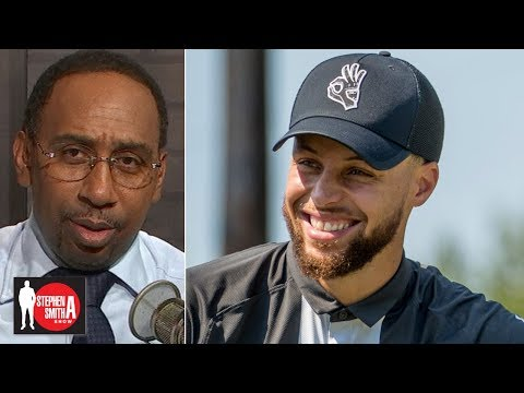 Video: Stephen A. commends Steph for financially supporting Howard golf | Stephen A. Smith Show