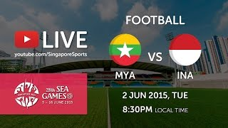 Video Football: Myanmar vs Indonesia    28th SEA Games Singapore 2015 MP3, 3GP, MP4, WEBM, AVI, FLV April 2019