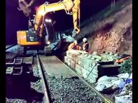 Railway Application Redi-Rock Walling