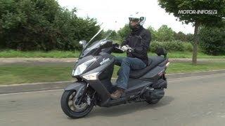 8. Essai SYM GTS 300 ABS 2013