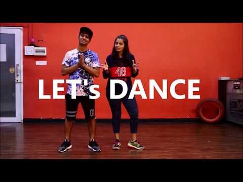 Easy Hiphop dance Steps - Footwork | Dance Series EP 1  | Vicky and Aakanksha