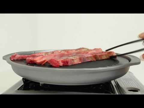 TECHEF - TRUE GRILL PAN / Indoor Stovetop Grilling