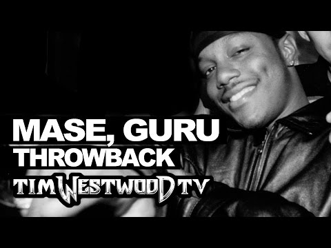 Mase, Guru freestyle first time ever released Throwback 1998 on Tim Westwood