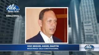 Entrevista a Magistrado Miguel Ángel Martín - Alo Buenas Noches 25-07-2017 Seg. 02
