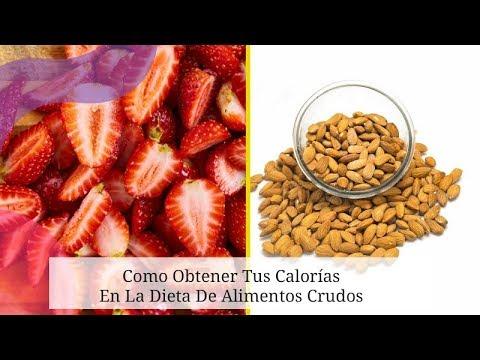 Dietas para adelgazar - Como Obtener Tus Calorías En La Dieta De Alimentos Crudos