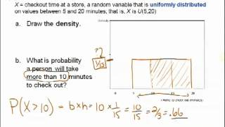 STATS 250 Week 04(a): Chapter 8 Continuous Random Variables
