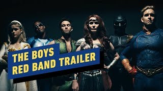 Amazon's The Boys: Red Band Teaser Trailer