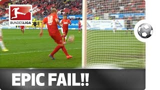 Unbelievable! Epic Fail from Less than Two Metres! - YouTube