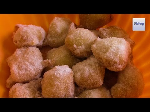 sfinci siciliane fritte - la videoricetta