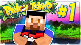 THE ADVENTURE BEGINS - PIXELMON ISLAND SMP #1 (Pokemon Go Minecraft Mod)