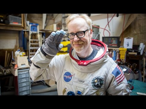 Adam Savage Shows Off His Replica Apollo A7L