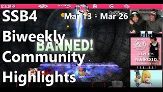 SSB4 Biweekly Community Highlights Feat. Tweek, Ultranick, Nairo, Gunblade, Cable, VoiD and more!