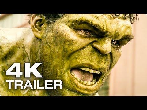 AVENGERS 2: Age Of Ultron Extended Trailer German Deutsch | 2015 [4K]