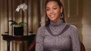 Beyonce tries to do a British accent