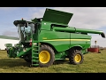 2016 John Deere S660 Combine with 9 Engine Hours Sold on Ohio Farm Auction
