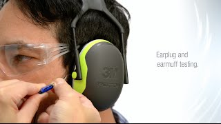 Hearing Protection with 3M EARfit Dual-Ear