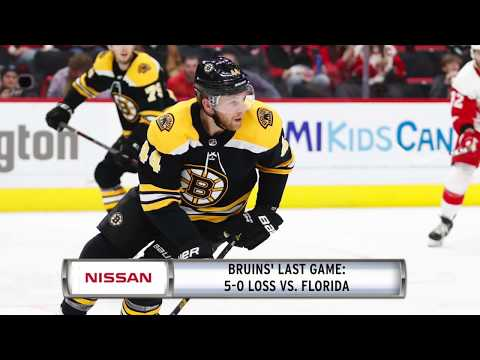 Video: NISSAN Morning Drive: Bruins face tough test in Tampa Bay