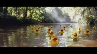 Duck advert for O2. March 2009 UK