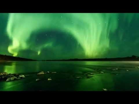 Aurora Over the South Saskatchewan River