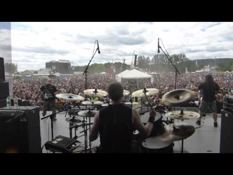 Dying Fetus - In The Trenches (Live at Amnesia Rockfest)