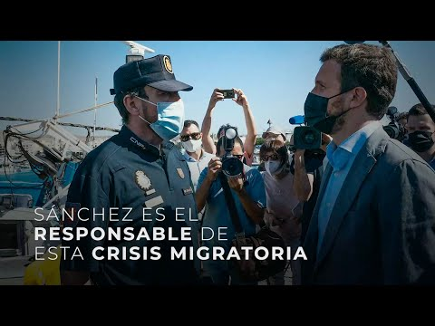 Sánchez es el responsable de esta crisis migratori...