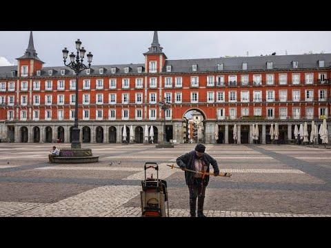COVID-19: Άδειοι οι δρόμοι της Ισπανίας