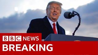Trump's last speech as president