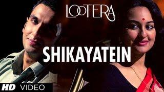 Shikayatein - Song Video - Lootera
