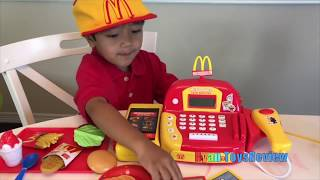 Video Ryan Pretend Plays with McDonald's Toys and Power Wheels MP3, 3GP, MP4, WEBM, AVI, FLV Agustus 2018