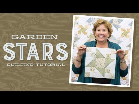 patchwork - garden stars quilt