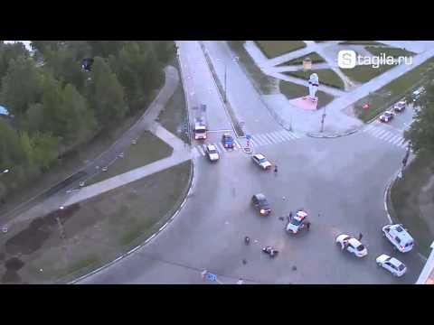 Авария с Мотоциклистом в Нижнем Тагиле