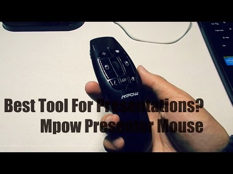 Best Tool For Presentations?   Mpow Presenter Mouse Review!