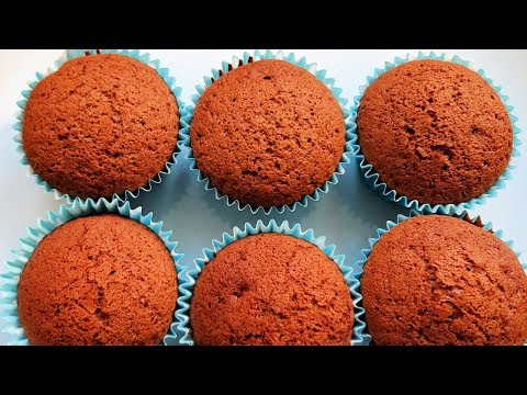 Simple Gingerbread Cupcakes