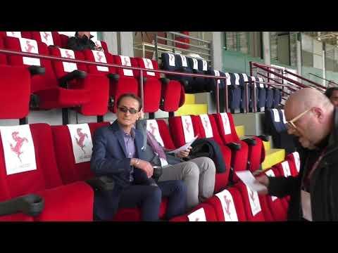 Arezzo-Monza 0-1, immagini dagli spalti