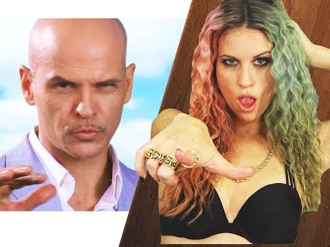 barelypolitical - Pitbull keeps his distance with Ke$ha in their new single Timber! Subscribe to BarelyPolitical! http://bit.ly/Nf8avU The Key of Awesome playlist! http://bit....