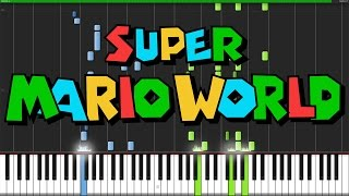 Super Mario World Medley - Super Mario World [Piano Tutorial] Ноты и МИДИ (MIDI) можем выслать Вам (