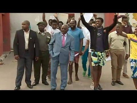 Ανγκόλα: Ελεύθεροι οι 16 ακτιβιστές