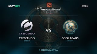 Crescendo vs Cool Beans, The International 2017 EU Qualifier
