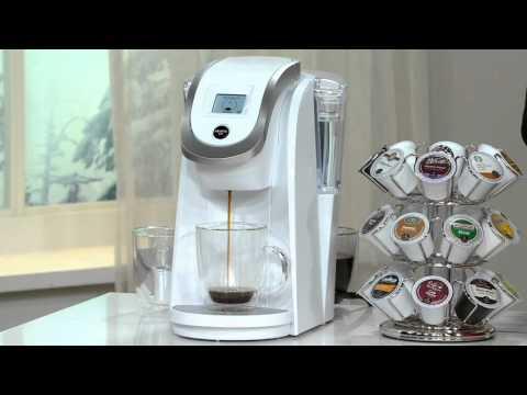 Keurig 2.0 K250 Coffee Maker w/ 31 K-Cup Packs & Water Filter Starter Kit on QVC