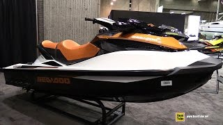 10. 2015 Sea Doo GTX 155 Jet Ski - Walkaround - 2015 Montreal Boat Show