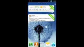 Galaxy S3 GO Launcher EX Theme YouTube video