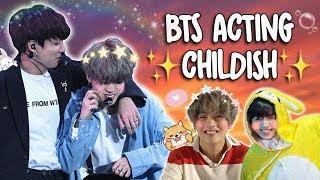 Video BTS INNOCENT & CHILDISH MOMENTS MP3, 3GP, MP4, WEBM, AVI, FLV September 2019